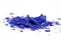 Crumbled eye shadows Royalty Free Stock Photography