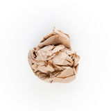 Crumbled Paper Royalty Free Stock Photography