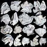 Crumbled Paper Stock Photography