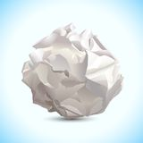Crumbled Paper royalty free illustration
