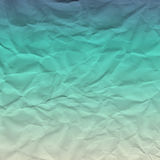Crumbled Paper ocean Stock Photography