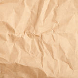 Crumbled paper texture Stock Images