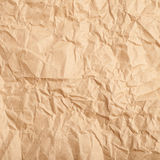 Crumbled paper texture Stock Photo