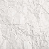 Crumbled paper texture Royalty Free Stock Photography