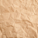 Crumbled paper texture Royalty Free Stock Image
