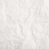Crumbled paper texture Royalty Free Stock Images