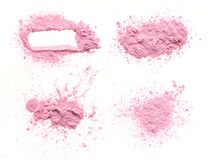 Free Crumbled Pink Powder Royalty Free Stock Image - 102403856