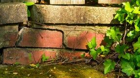 Crumbling bricks Royalty Free Stock Image