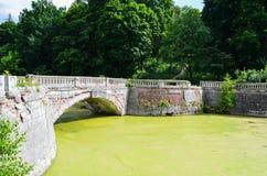 Crumbling bridge Royalty Free Stock Photography