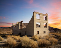 Crumbling Building Royalty Free Stock Photography