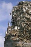 Crumbling building Stock Image
