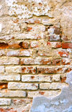 Crumbling cemented wall Stock Images