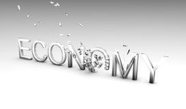 crumbling economy Στοκ Εικόνες