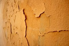 Crumbling paint Royalty Free Stock Photography
