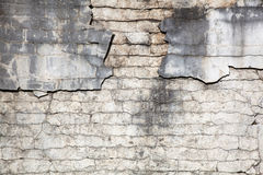 Crumbling plaster texture Royalty Free Stock Photo