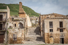 Crumbling staircase.jpg Stock Photography