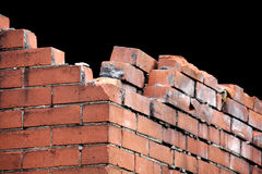 Crumbling Wall Royalty Free Stock Photos