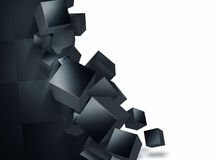 Crumbling wall Stock Image