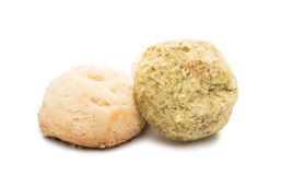 crumbly biscuits Stock Image