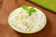 Crumbly cheese Royalty Free Stock Images