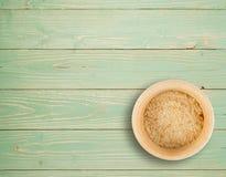 Crumbs ψωμιού ή συντριμμένα Crumbs φρυγανιών Στοκ Φωτογραφία