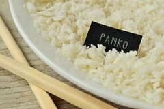 Crumbs ψωμιού Panko Στοκ Εικόνα