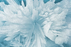 Crumbs of ice of Lake Baikal Stock Image