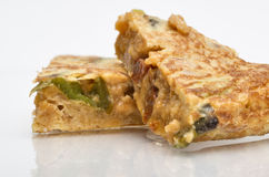 Crumbs omelet Stock Image