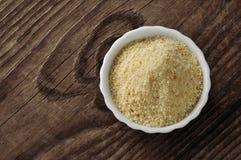 Crumbs van het brood - pangrattato stock fotografie