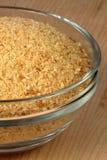 Crumbs van het brood voor het paneren Royalty-vrije Stock Afbeeldingen