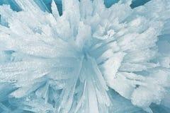 Crumbs van ijs van Meer Baikal Stock Afbeelding