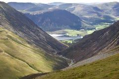 crummock地区英国湖水 免版税图库摄影