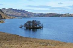 Crummock水在Cumbria 免版税图库摄影