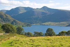 Crummock Water, Cumbria, England Royalty Free Stock Images