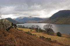 Crummock Water in the English Lake District Stock Photos