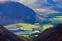 Crummock water of Lake District England Stock Photos