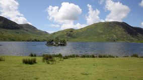 Crummock Water Lake District North West England UK stock video footage
