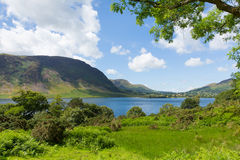 Crummock Water Lake District North West England UK between Buttermere and Loweswater Stock Photos