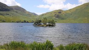 Crummock Water Lake District North West England UK stock footage