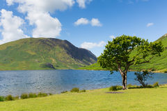 Crummock Water Lake District North West England UK with mountains between Buttermere and Loweswater Royalty Free Stock Photography