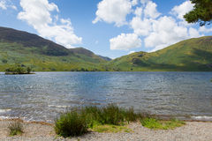Crummock Water The Lakes North West England UK between Buttermere and Loweswater Royalty Free Stock Photos