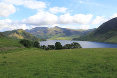 Crummock Water from Rannerdale Knotts Stock Photos