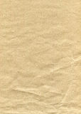 Crump brown paper Stock Images