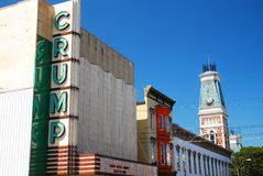 Crump Theatre, Columbus Royalty Free Stock Photography