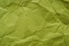 Crumped Papier Lizenzfreies Stockfoto
