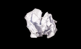 Crumple paper Royalty Free Stock Photos
