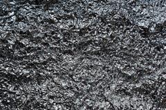 Crumpled сморщило текстуру серебряной фольги Стоковые Изображения