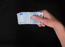 Crumpled Banknotes Money Stock Photography