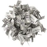 Crumpled bills Stock Photography