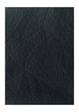 Crumpled black paper. Textured background stock photo